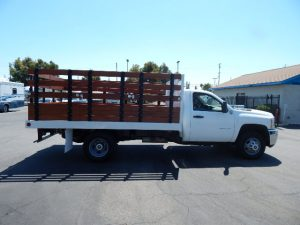 Stake Bed Truck